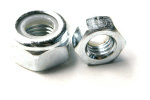 M8 hex nut with nylon insert 13 mm head